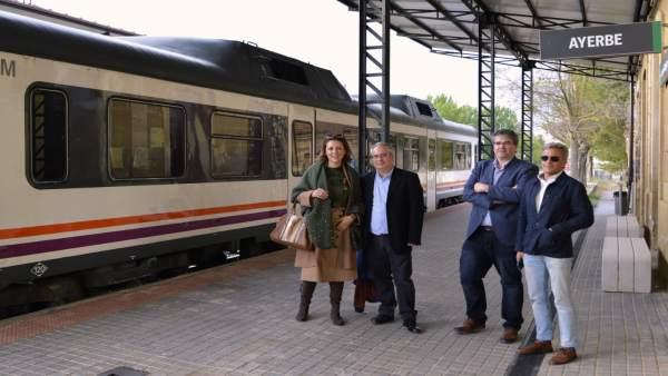 28A.- Guillén (Cs) Apunta Que Viajar En El Canfranero Es 'Montar En El Túnel Del Tiempo Y Volver Al Siglo XIX'