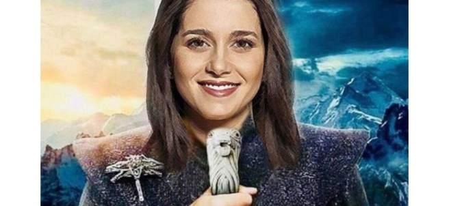 Inés Arrimadas como Daenerys Targaryen