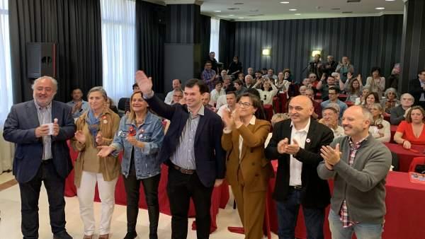 28A.- Gonzalo Caballero Destaca La Apuesta Del PSOE Por Los Derechos Sociales, 'Donde Otros Sólo Ven Precios'