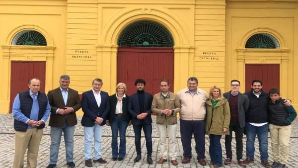 Cádiz.-28A.-El PP destaca en Jerez a la tauromaquia por su 'simbolismo de una España' y su 'alta contribución al empleo'