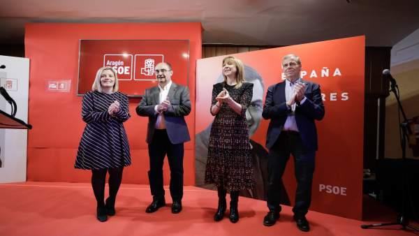 28A.- Lambán (PSOE) Asegura Que A Aragón El Gobierno De Pedro Sánchez 'Le Ha Sentado De Maravilla'