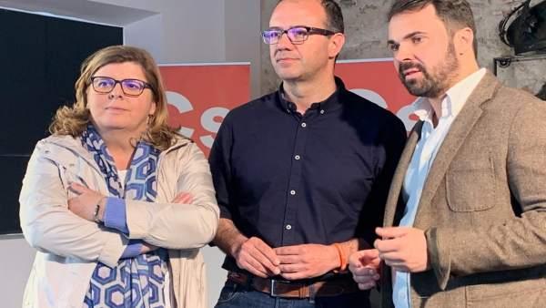 28A.- Polo Asegura Que Los Diputados De Ciudadanos 'Defenderán' A Extremadura, 'Cosa Que No Han Hecho PP Ni PSOE'
