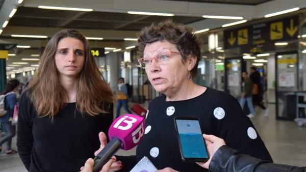 28A.- Unidas Podemos Se Muestra Crítico Con Las Condiciones Laborales De Los Trabajadores De Aena En Palma