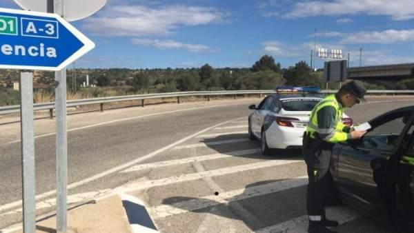 Valencia.- Sucesos.- Un conductor de un autobús con 20 pasajeros da positivo en un control de alcoholemia