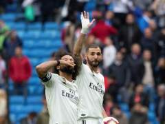 Marcelo y Benzema.