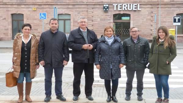 28A.- El PP Apuesta Por La Doble Vía Electrificada En El Trazado Zaragoza-Teruel-Sagunto