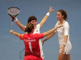 Equipo español de Fed Cup.