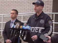 Rueda de prensa tras el asesinato