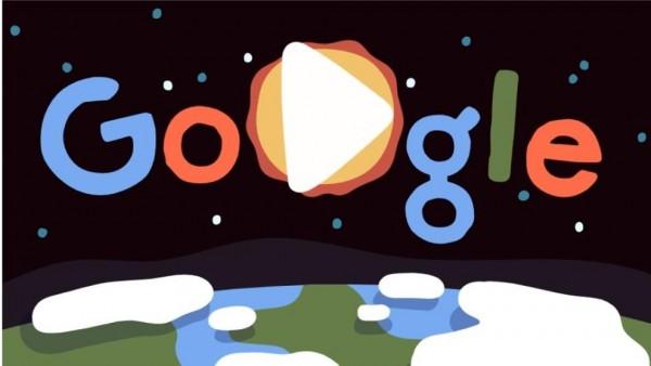 Doddle de Google con motivo del Día de la Tierra