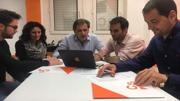 28A.- Moreno Asegura Que Cs Garantizará Una Provincia De Teruel Con 'Libertad, Igualdad Y Futuro'
