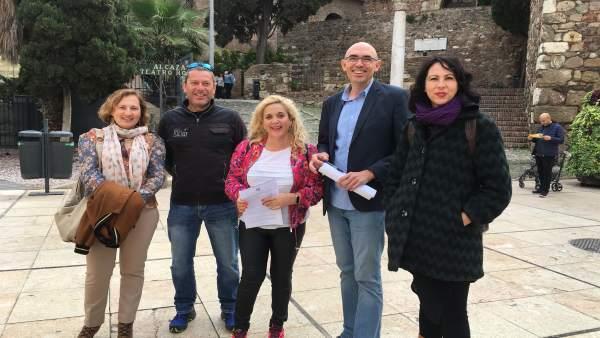 Málaga.- 28A.- Unidas Podemos reclama inversiones en Alcazaba y Gibralfaro y cumplir los compromisos en San Agustín