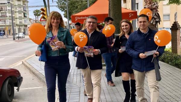 Málaga.- 28A.- Ciudadanos apuesta por impulsar el despegue de La Axarquía como 'motor de empleo' para la provincia