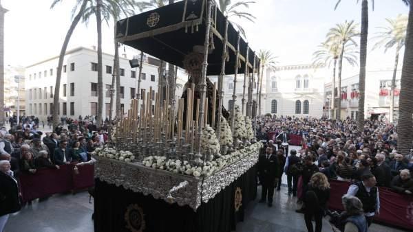 Almería.-Turismo.-S.Santa.-Los hosteleros hacen una balance 'satisfactorio' pese a detectar una ligera caída del consumo