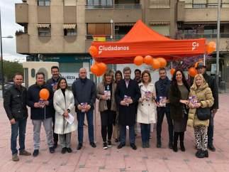 Granada.- 28A.- Hervías (Cs) mantiene que el 'bipartidismo' ha sido 'incapaz de alzar la voz' por la provincia