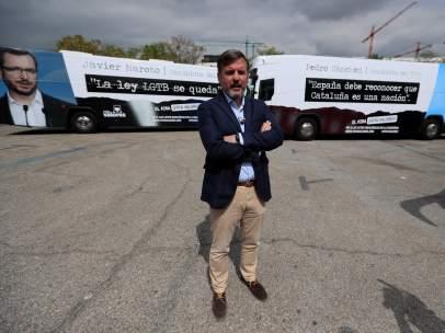 Ignacio Arsuaga presenta tres nuevos autobuses