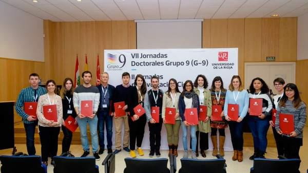 Entregados los premios a las investigaciones ganadoras de las VII Jornadas Doctorales del G-9