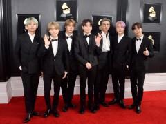 El grupo BTS en los 'Grammy'