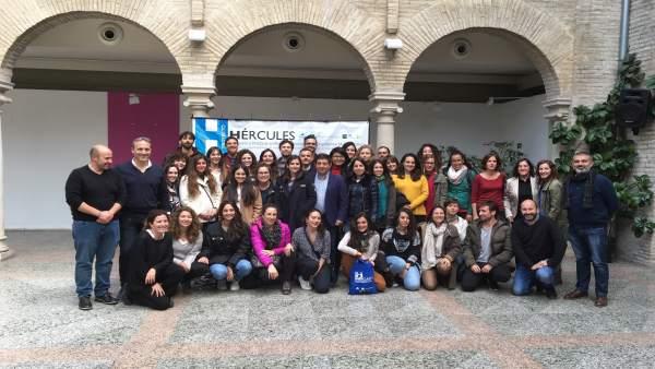 Jaén.- MásJaén.- Un total de 40 jóvenes en situación de desempleo se forman en Cazorla en cooperación internacional