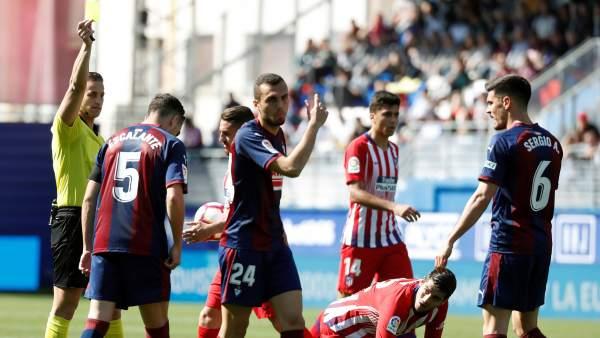 Alberola Rojas en el Eibar - Atlético