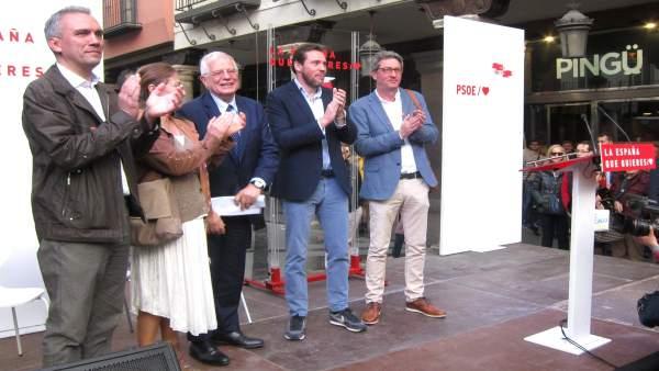 28A.-Borrell Reclama Un Final De Campaña Con 'Menos Descalificaciones' Y Centrarse Más En Los Temas Que Propone El PSOE
