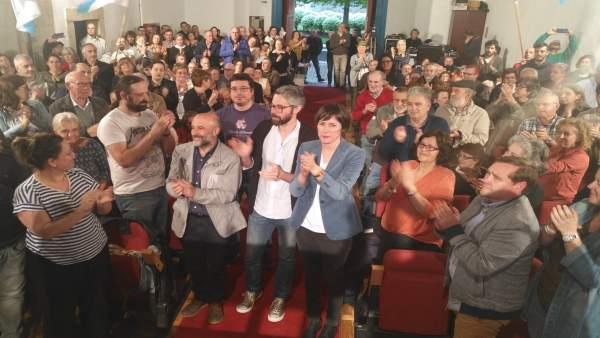 Pontón asegura que el voto del BNG vale doble, 'para defender a Galicia y para frenar a la derecha de la plaza de Colón'