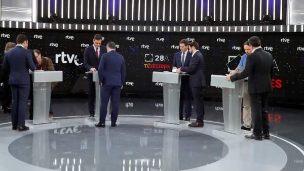 La contracrónica del debate del 22-A en TVE