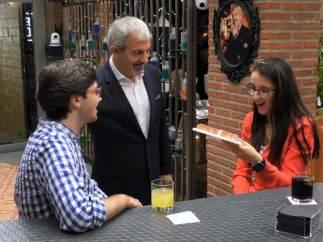 Álvaro y Mónica, en 'First dates'.