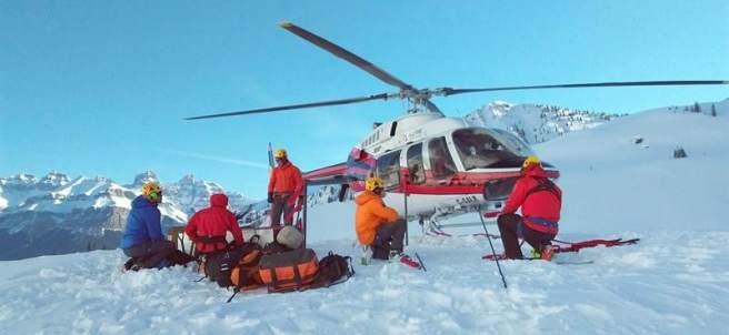 Alpinistas fallecidos en Canadá