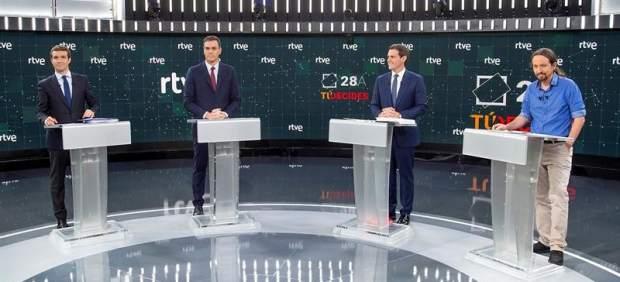 Debate electoral en RTVE