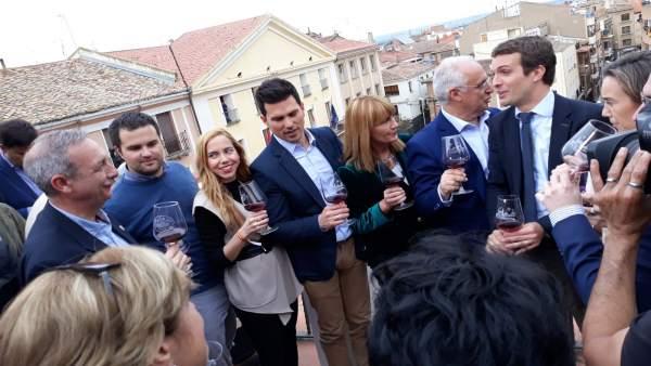 28A.- Pablo Casado: 'Cuando mejor le ha ido a La Rioja ha sido con el PP'