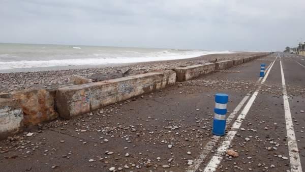 9df93d216d68 Fulgencio dice que se evaluarán los daños del temporal en playas ...
