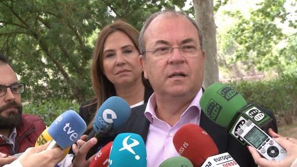 ++eptv: Monago invita a fuerzas política a 'destrabar' en próxima legislatura los 'problemas ambientales' de Extremadura