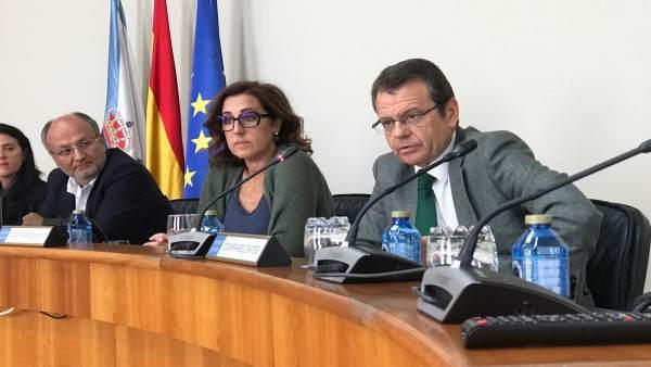 Þ Ángel Bernardo Tahoces, en la comisión de Economía