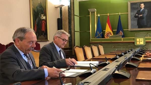 Oviedo.- El Ayuntamiento y la Universidad renuevan su convenio de colaboración