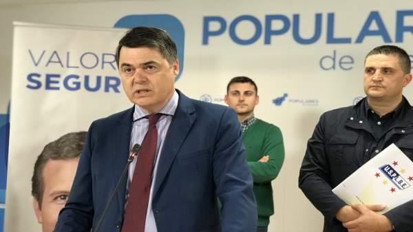 Granada.- 28A.- Rojas (PP) se compromete con la Policía Local para reconocer por ley el riesgo de la profesión