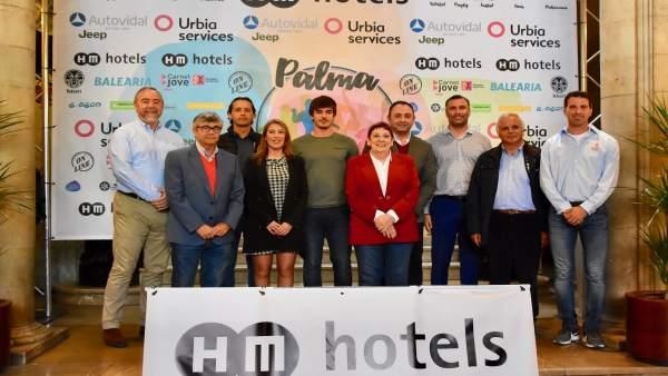 Un total de 600 deportistas compiten este fin de semana en el torneo HM Palma Beach Games en Playa de Palma