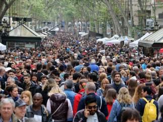 Sant Jordi 2019, en imágenes