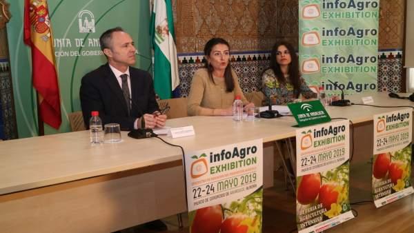 Almería.-Unas 500 empresas se darán cita en la feria Infoagro Exhibition entre el 22 y 24 de mayo en Roquetas