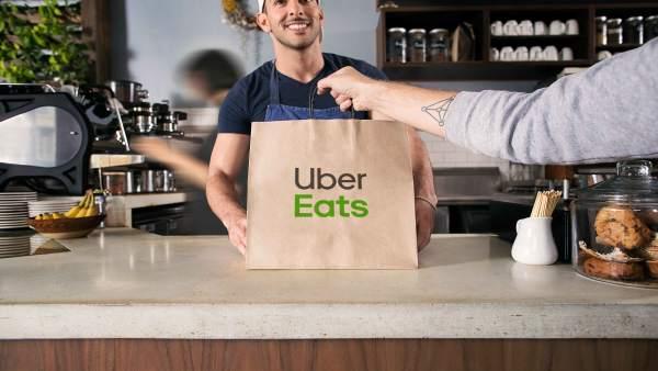 Uber aterriza en Asturias con su app de comida a domicilio
