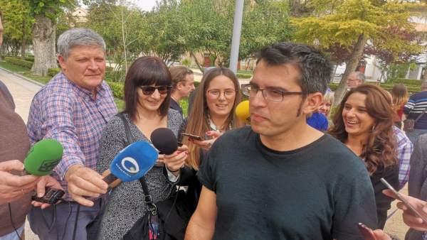 Jaén.- 28A.- Sánchez (Unidas Podemos) apuesta por garantizar ingresos suficientes y una política fiscal justa