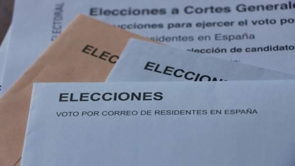 28A.- Andalucía registra más de 232.000 peticiones de voto por correo para las elecciones del domingo