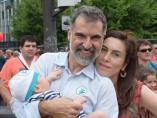 Cuixart anuncia que espera su segundo hijo con la periodista Txell Bonet