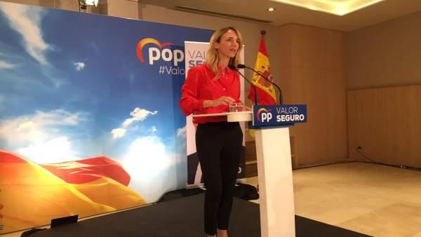 28A.- Álvarez De Toledo (PP), En Girona: Aquí Es Donde La Democracia Está 'Más Gravemente Socavada'