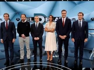 Las mejores imágenes del debate de vuelta en Atresmedia