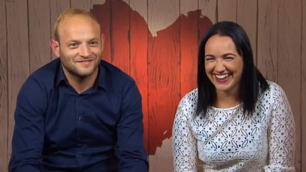 Miguel y Sara, en 'First dates'.