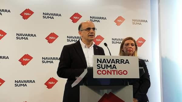 28A.- Navarra Suma Dice Que 'Va A Ser La Voz En Madrid De Los Colectivos Sociales'