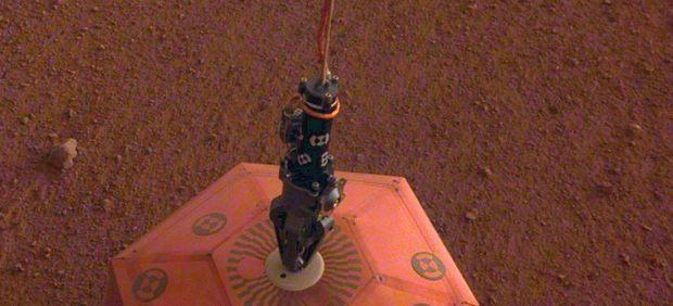 Movimiento sísmico en Marte
