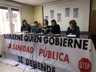 Varios colectivos se manifestarán este jueves en defensa de la sanidad pública y sus profesionales