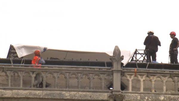 Protegiendo Notre Dame