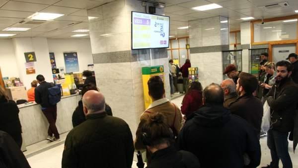 Oficina de Correos en Madrid